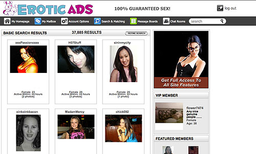 Eroticads Review | Try Eroticads For Free!